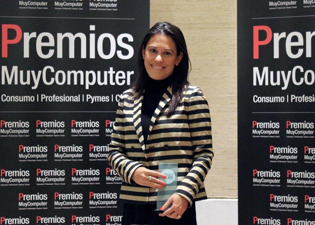 Recoge el premio Inés Bermejo, Directora de la Categoría de Impresión de HP Inc. España y Portugal