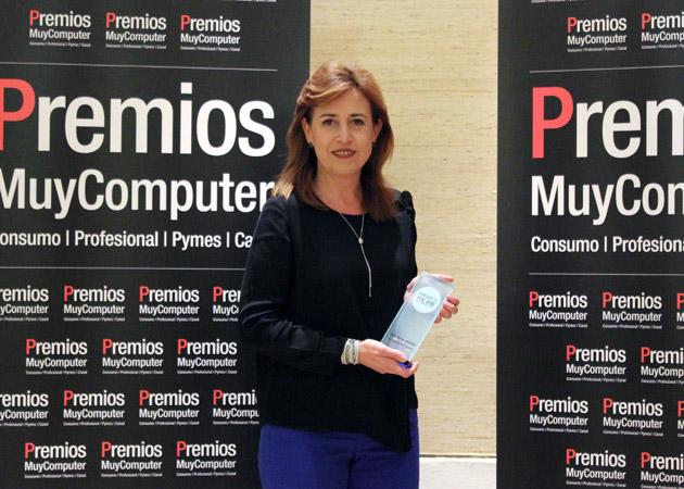 Recoge el premio Beatriz Cuesta, Directora de Marketing de Sistemas Personales Profesionales de HP Inc
