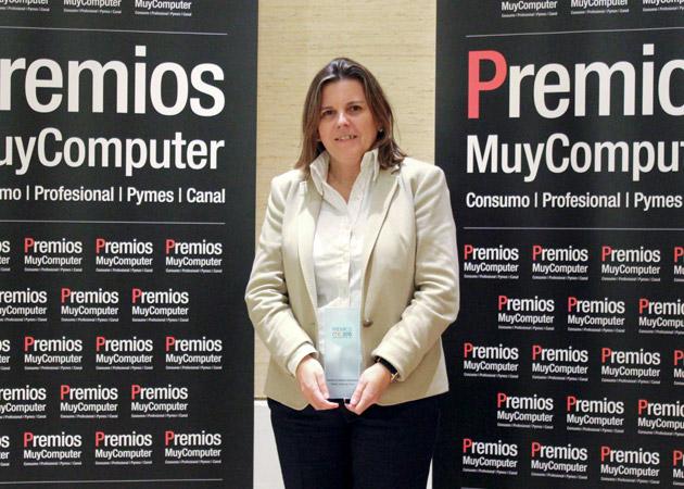 Recoge el premio Susana Juan Cuervo, directora de Desarrollo de Negocio de Arsys