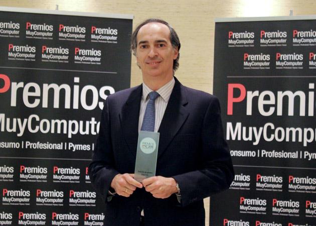 Recoge el premio, Juan Andújar,  Product Manager de Sage One