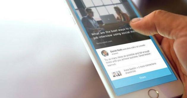 LinkedIn presenta Voyager, su renovada aplicación para móvil
