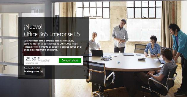 Microsoft lanza un nuevo plan Office 365 para pymes