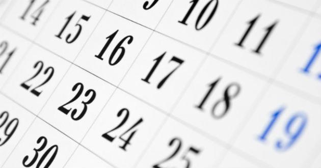 Conoce el calendario festivo de 2016