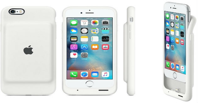 Apple lanza una funda con cargador para el iPhone 6 y 6S