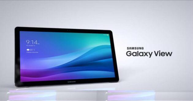 Samsung lanza la tableta de grandes dimensiones Galaxy View