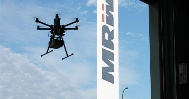 MRW prepara un servicio de envío con drones