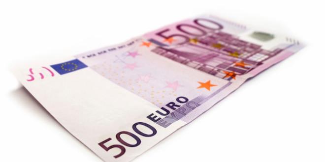 Los billetes de 500 euros podr an tener los d as contados for Ecksofa 500 euro