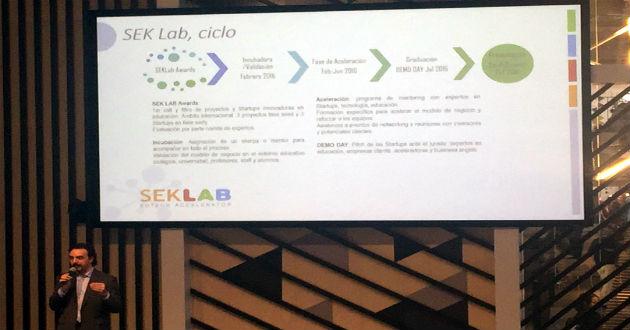 SEK Lab elige a 8 de las startups más innovadoras en educación