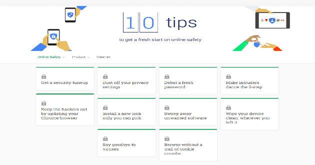 Conoce los 10 consejos de Google sobre seguridad y privacidad