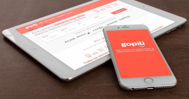 gopili, primer buscador de viajes integral diseñado por usuarios