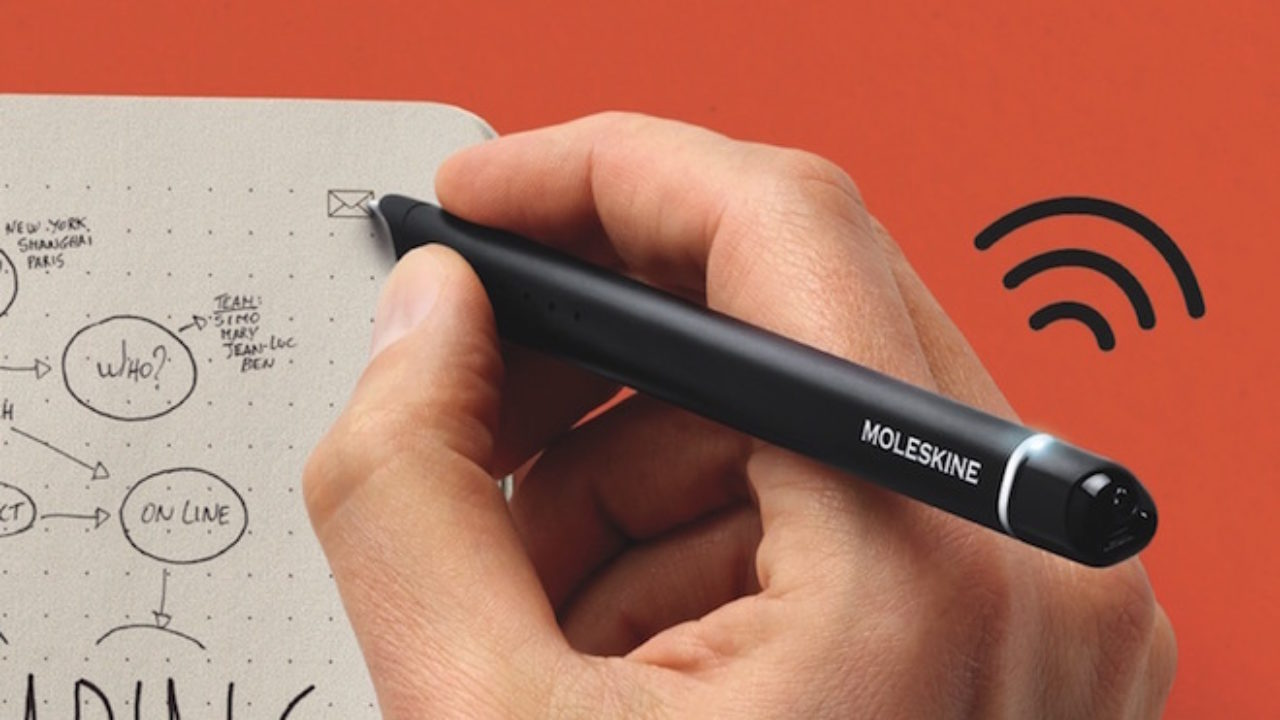 Moleskine Se Apunta A Internet Con Su Smart Writing Set Muypymes