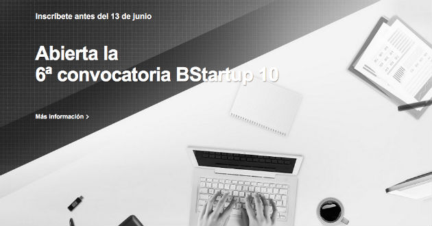 BStartup 10 abre su sexta convocatoria