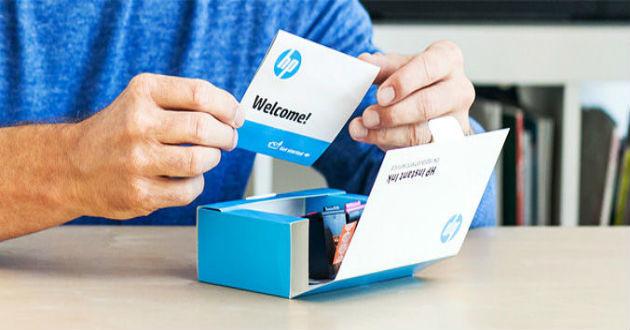 HP presenta su servicio de reposición de tinta Instant Ink en España