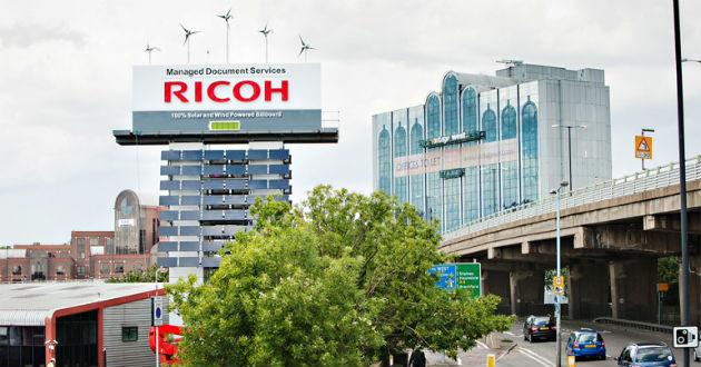 El camión tecnológico de Ricoh llega a España