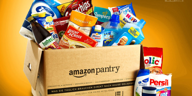 Amazon Pantry: más competencia para los supermercados on-line en España