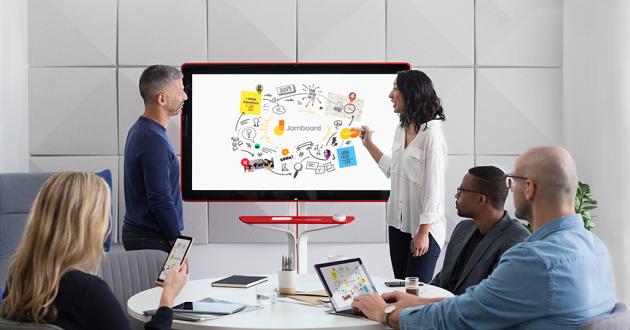 Jamboard: la pantalla de 55″ 4K con la que Google quiere cambiar las oficinas