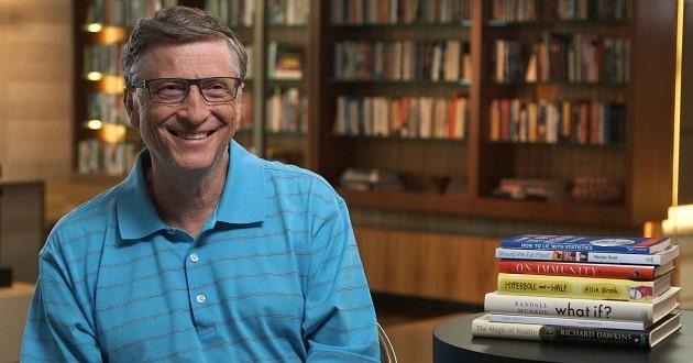 Cinco libros que según Bill Gates deberías empezar a leer