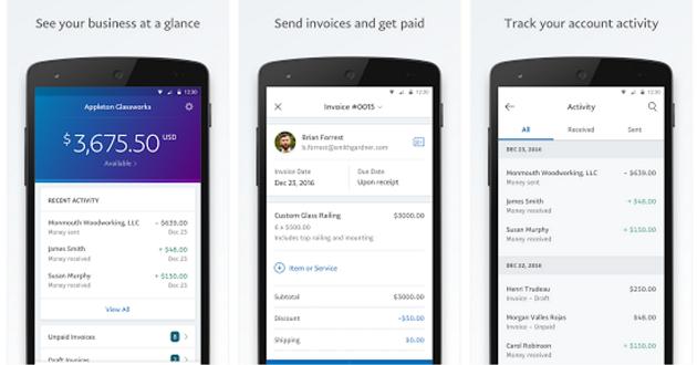 PayPal mejora en la pequeña empresa con PayPal Business