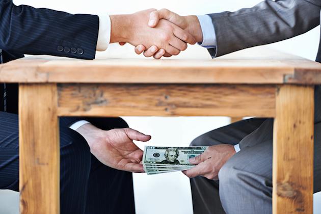 corrupcion y sobornos