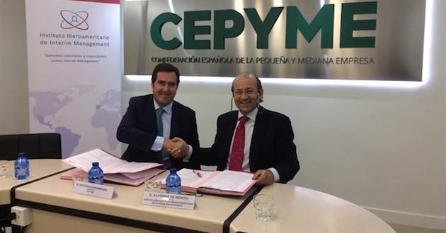 Cepyme e Interim Management se unen para ofrecer formación y gestionar proyectos para pymes