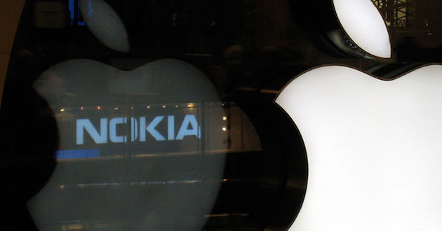 nokia y apple