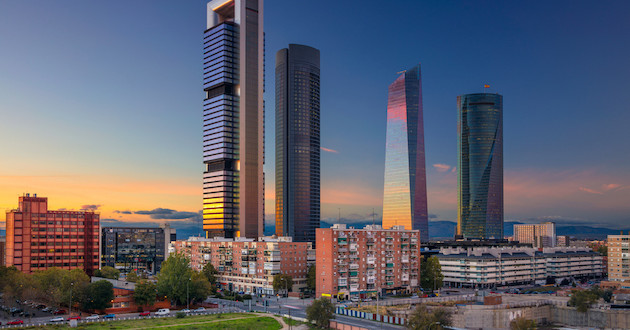 Dos barrios de madrid y barcelona entre los mercados de for Vaciado de oficinas en madrid