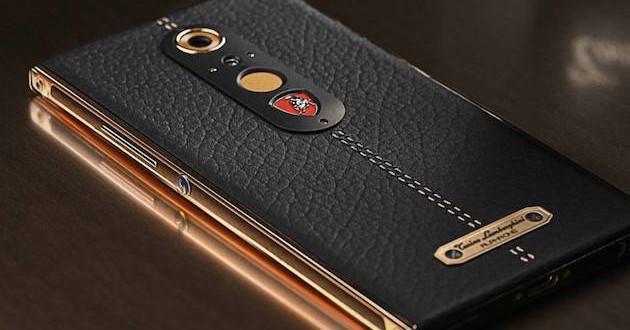 Lamgorghini lanza un teléfono móvil de lujo por 2.150 euros