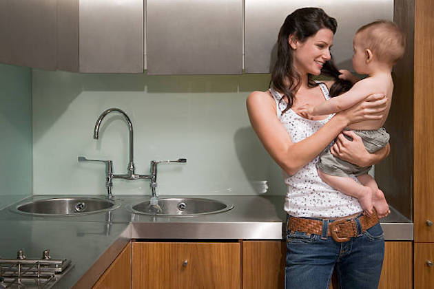 hogares monoparentales