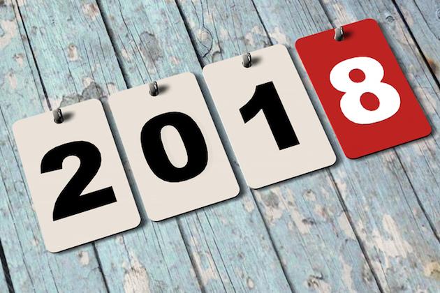 calendario eventos 2018