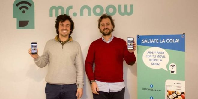 Mr. Noow, startup española
