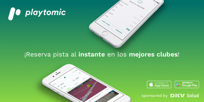 Playtomic, startup del deporte