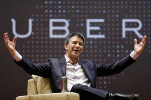 Travis Kalanick, ex CEO de Uber