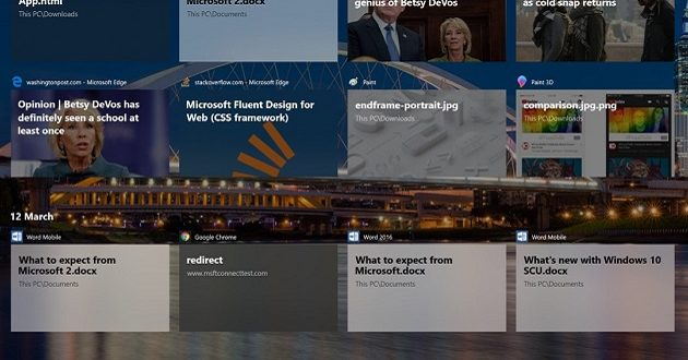 Novedades de la actualización Windows 10 Spring Creators Update