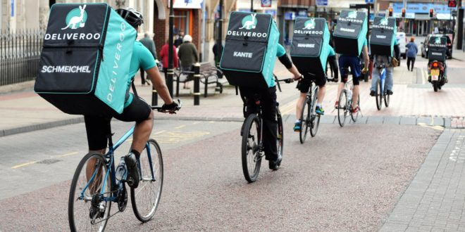 Riders de Deliveroo