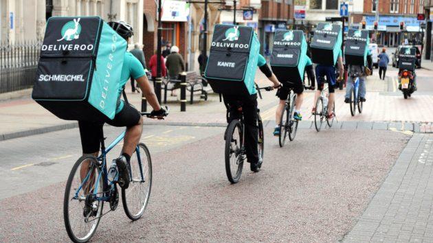 Riders de Deliveroo