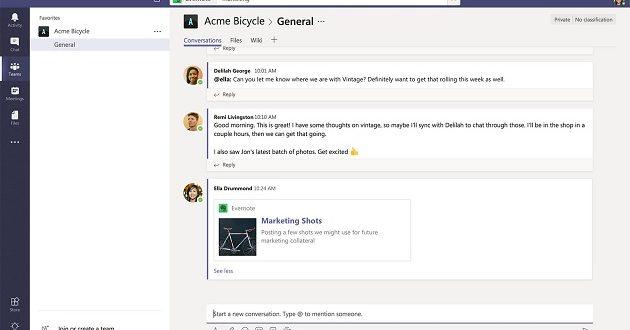 Evernote confirma su integración total en Microsoft Teams