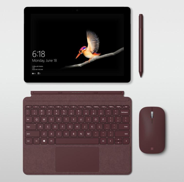 Surface Go es el arma de Microsoft para competir con el iPad económico