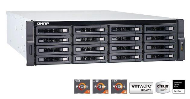 Nuevo QNAP TS-1677XU-RP con Ryzen: NAS de alto rendimiento