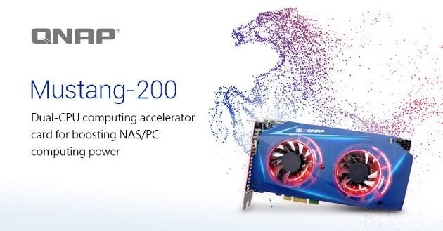 QNAP presenta la tarjeta aceleradora Mustang-200 para NAS