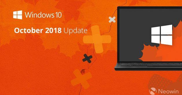 El retraso de Windows 10 October 2018 Update está siendo problemático