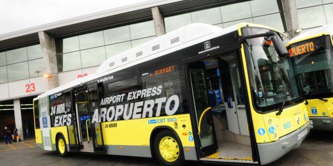 EMT Madrid probará el pago con el móvil en el autobús a Barajas