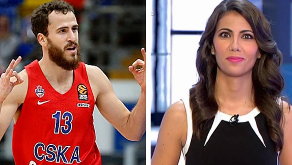Sergio Rodríguez y Ana Pastor