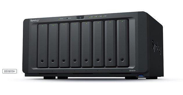 Synology presenta su nuevo NAS DiskStation DS1819+ con ocho bahías