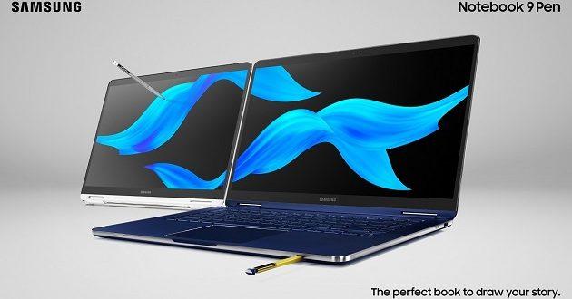 Nuevos Samsung Notebook 9 Pen: especificaciones