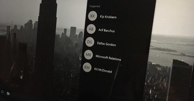 "Microsoft está considerando retirar ""Mis Contactos"" de Windows 10"