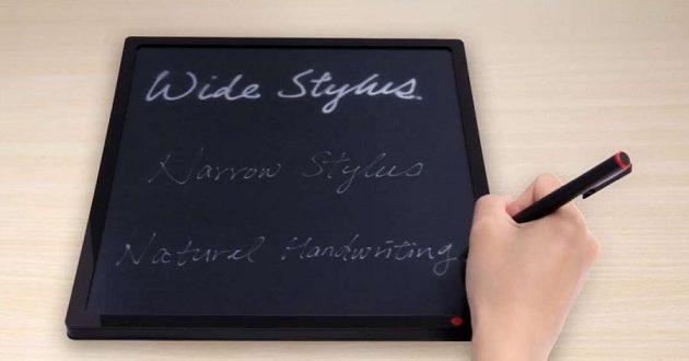 JustWrite promete escritura perfecta y natural con tinta electrónica