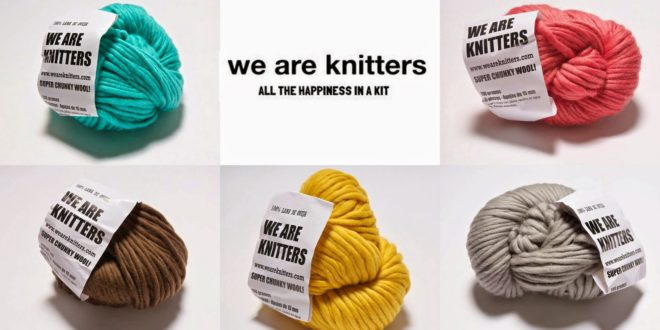 We are Knitters factura 10 millones de euros vendiendo ovillos y agujas de tejer