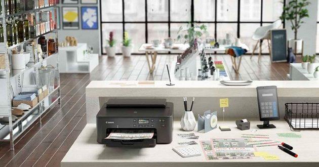 Canon PIXMA TS705: una impresora profesional compacta y económica