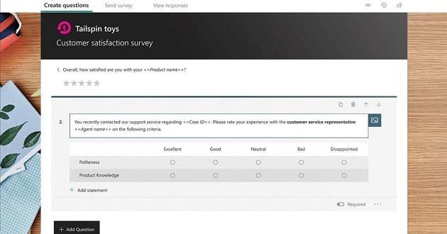 Microsoft Forms Pro: nueva herramienta centrada en las encuestas