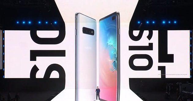 Samsung presenta los Galaxy S10 y Galaxy Fold: productividad y multitarea